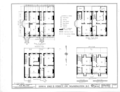 1000 and 1002 B Street Southwest (House), Washington, District of Columbia, DC HABS DC,WASH,126- (sheet 1 of 3).png