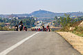 100 kilometer Bangalore Bicycle Championship on National Highway NH7 India.jpg
