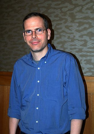 Tim Carvell - Carvell at a November 18, 2013 signing for Inside Mad at a Barnes & Noble in Manhattan