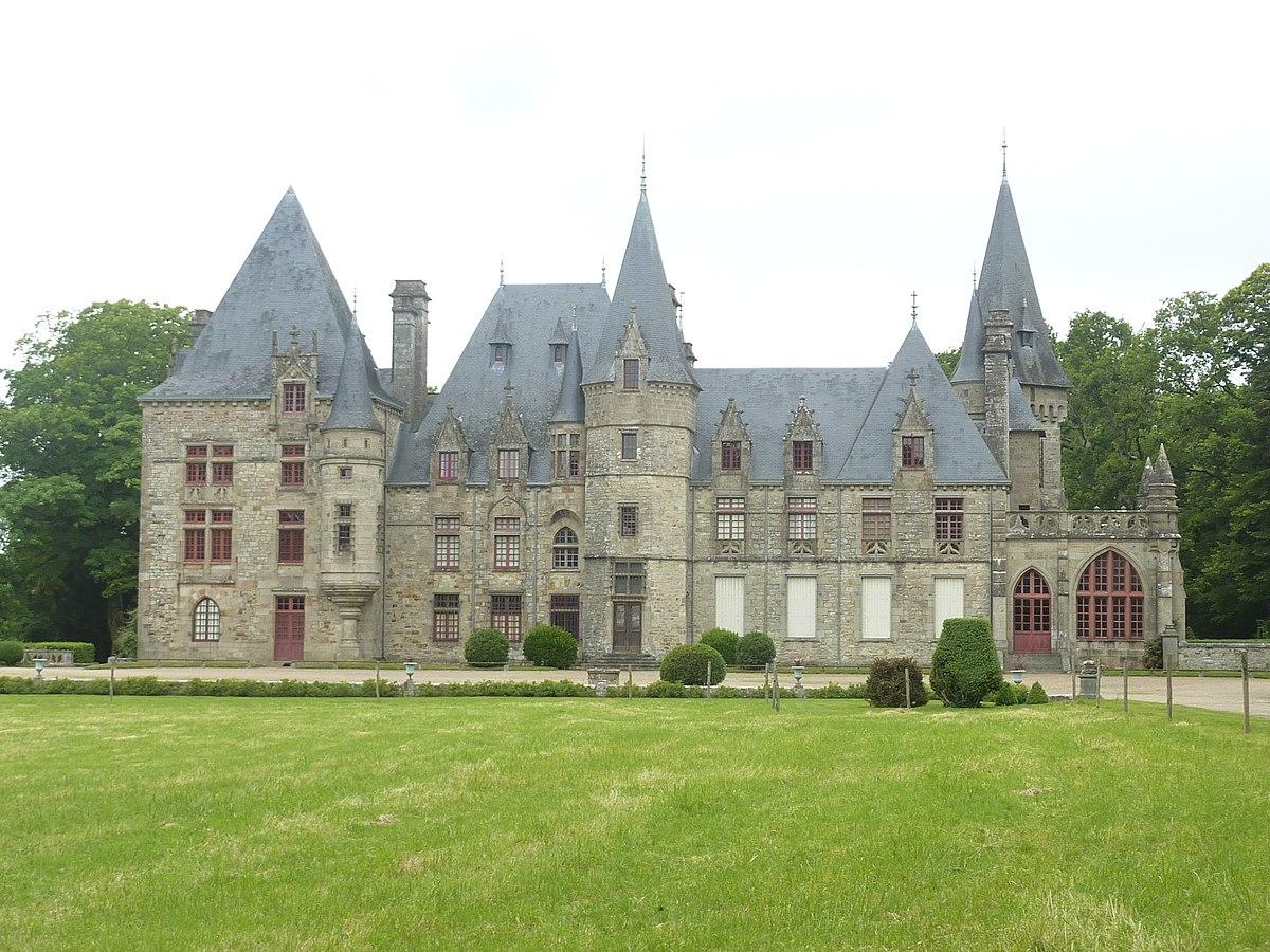 Ch u00e2teau du Bois Cornillé u2014 Wikipédia # Le Chateau Du Bois