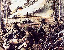124th Infantry, World War II, Mindanao, Colgan Woods