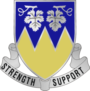 13th Combat Sustainment Support Battalion (United States) - Image: 13 Spt Bn DUI