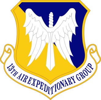 13th Air Expeditionary Group - Emblem of the 13th Air Expeditionary Group