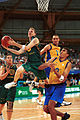 141100 - ID basketball Brett Wilson lays 2 - 3b - 2000 Sydney match photo.jpg