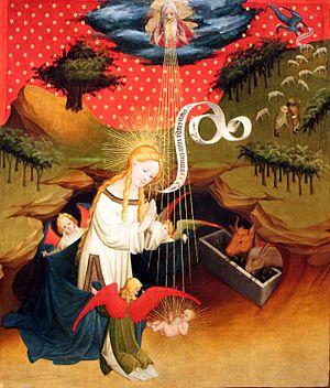 Master Francke - Image: 1426 Meister Francke Die Anbetung des Kindes anagoria