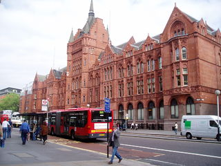 Holborn area of central London, England