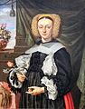 1664 Strauch Bildnis einer Dame mit Blumen anagoria.JPG