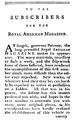 1774 RoyalAmericanMagazine subscribers1 Thomas.png