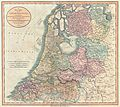 1799 Cary Map of the Netherlands - Geographicus - Netherlands-cary-1799.jpg