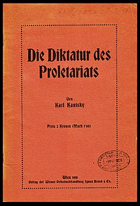 The Dictatorship of the Proletariat cover