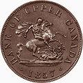 1857 Bank of Upper Canada Half-Penny Token obv.jpg