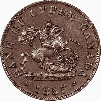 Coinage of Upper Canada - Obverse
