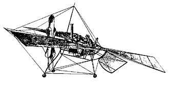 Claims to the first powered flight - The du Temple monoplane