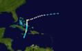 1884 Atlantic hurricane 4 track.png