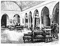 1886-05-30, La Ilustración Española y Americana, Madrid, El nuevo domicilio del Centro del Ejército y la Armada, Salón llamado La Serre para tertulia, Comba, Rico.jpg