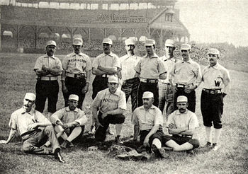 1888 Washington Nationals team photo