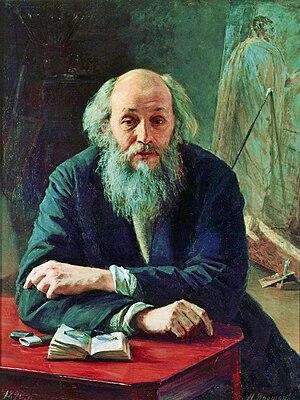 Nikolai Ge - Nikolai Ge, portrait by Nikolai Yaroshenko