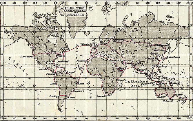 Major telegraph lines in 1891. 1891 Telegraph Lines.jpg