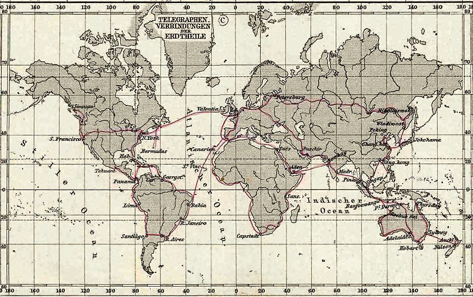 1891 Telegraph Lines