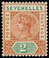 1897-1900 2c stamp of Seychelles.jpg