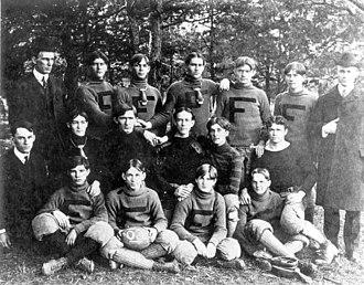 1903 Florida State College football team - Image: 1903 Florida State College football team