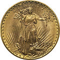 1908 Saint-Gaudens double eagle no motto obverse.jpg