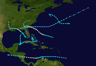1911 Atlantic hurricane season hurricane season in the Atlantic Ocean