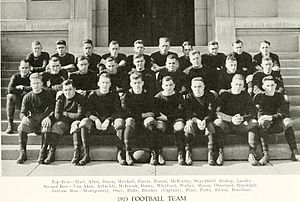 1915 Purdue Boilermakers football team - Image: 1915 Purdue football team