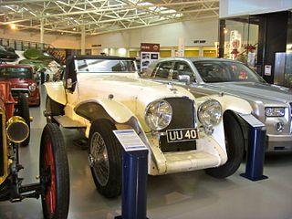 Leyland Eight car model