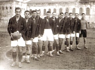 Nihat Bekdik - Nihat Bekdik as Captain of the Galatasaray SK 1930–1931 Champion Team