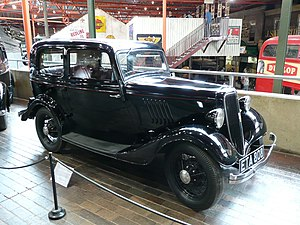 Percival Perry, 1st Baron Perry - Model Y, the first Ford designed for the market outside USA