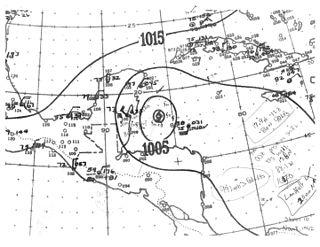 1942 Belize hurricane