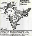 1946 Map of British India with areas demanded for separate Pakistan by Muslim League.jpg