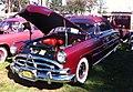 1951 Hudson maroon convertible Hershey 2012 b.jpg