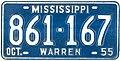 1955 Mississippi License Plate.jpg