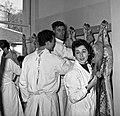 1958 visite d'une délégation INRA au Haras du Pin Cliché Jean Joseph Weber-42.jpg