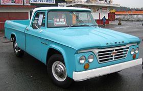 Old Dodge Trucks >> Dodge D Series Wikipedia