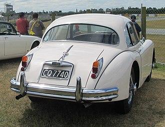 Jaguar XK150 - Image: 1961 Jaguar XK150 fixed head coupé (11336314523) (cropped)