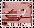 1966 World Ice Hockey Championships stamp of Yugoslavia 2.jpg