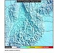 1967 Aratoca earthquake ShakeMap.jpg