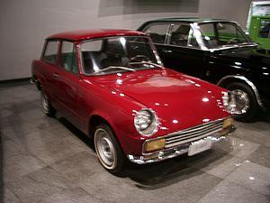 Shinjin Motors - Image: 1967 Shinjin (Toyota) Publica 신진 퍼블리카