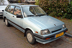 Suzuki Swift 1.3 GLX (1987)