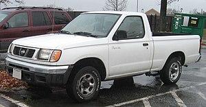 Nissan Navara - 1997–2000 Nissan Frontier regular cab