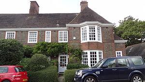 Henrietta Barnett - 1 South Square, Hampstead Garden Suburb, former home of Henrietta Barnett