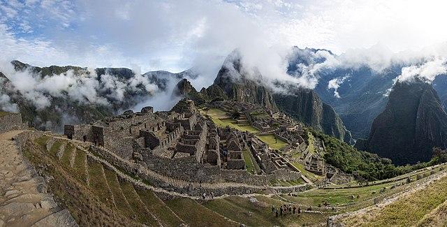 Machu Picchu in Mist