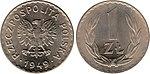 1 zloty 1949 CuNi.jpg
