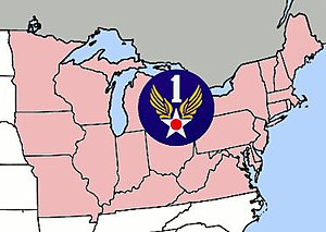 First Air Force - First Air Force region of the United States, World War II