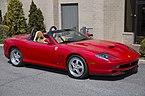 2001 Ferrari 550 Barchetta no 135, front right side.jpg