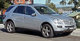 2007 Mercedes-Benz ML 320 CDI (W 164 MY08) Luxury wagon (2010-06-02).jpg