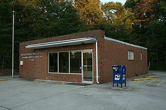 Bahama, North Carolina - Bahama post office